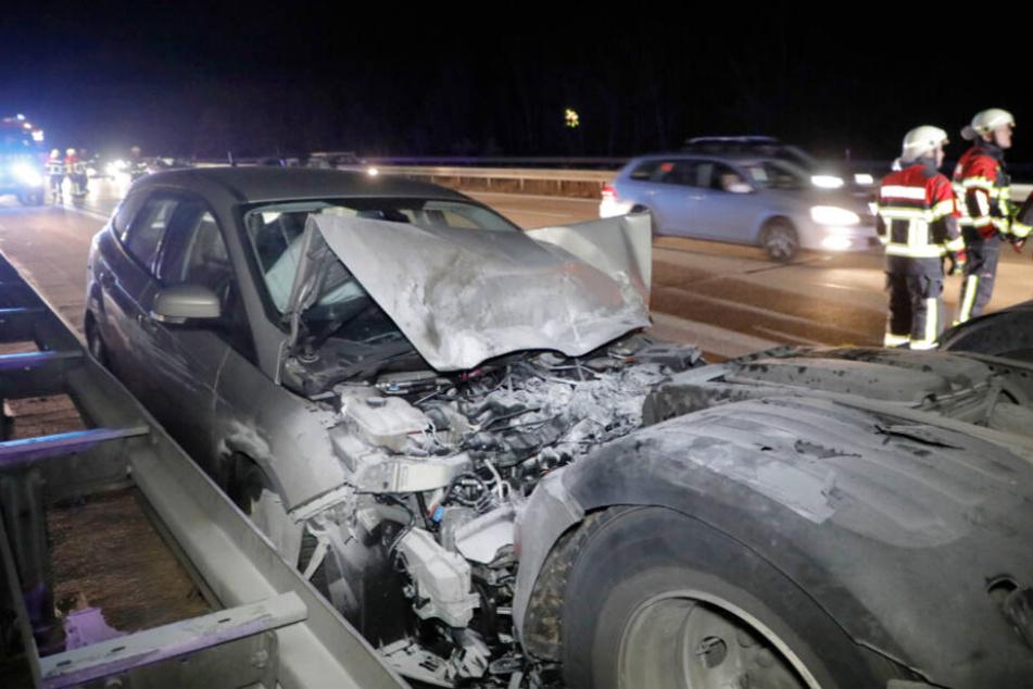An dem Ford entstand ein erheblicher Schaden.
