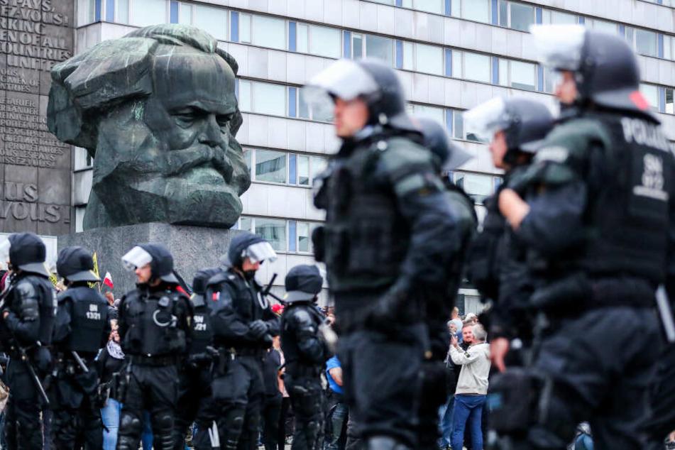 Der Hass hört nicht auf: 2018 sorgten die Ereignisse in Chemnitz für bundesweite Schlagzeilen.