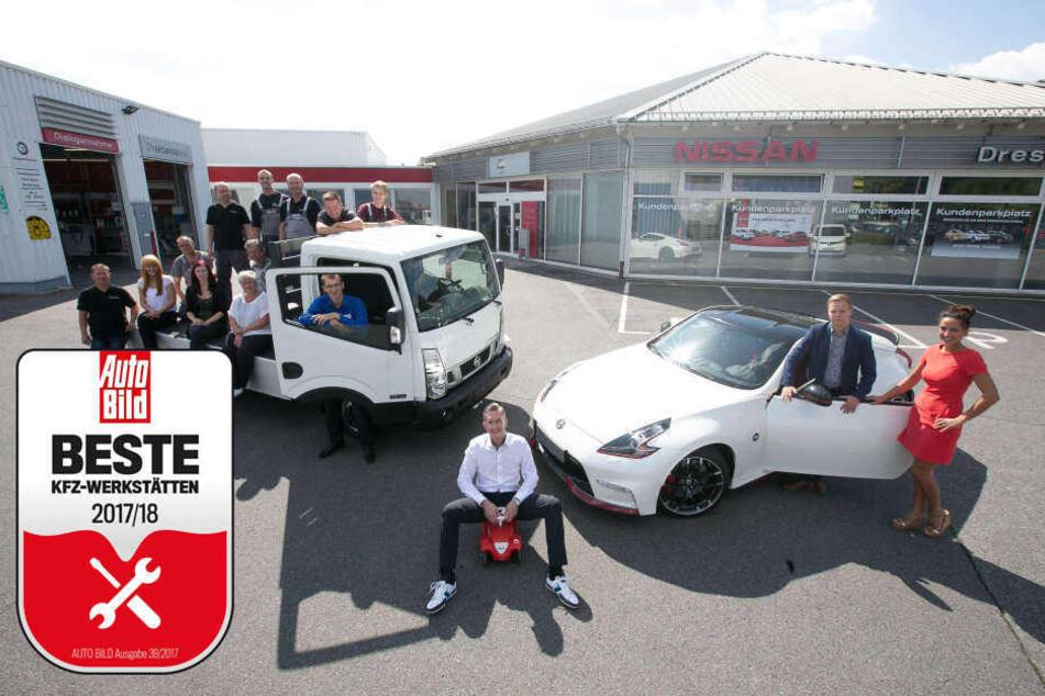 Das Team vom Autocenter Dresden freut sich auf Dich.