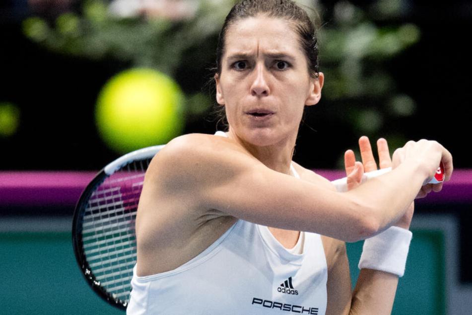 Derzeit auf Platz 68 der Weltrangliste: Andrea Petkovic.