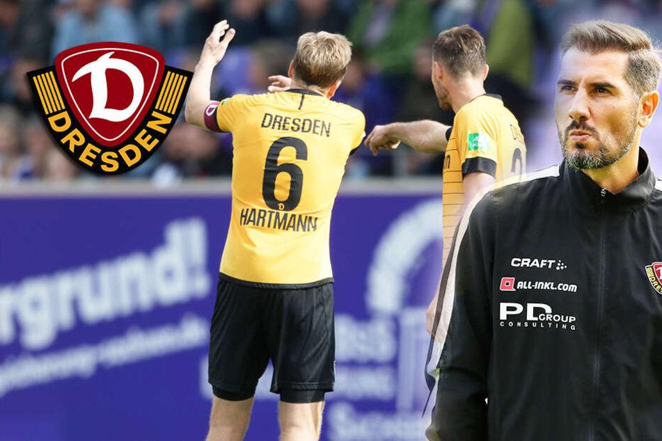 Dynamo verkommt zur Schießbude der Liga: Fiel muss die Abwehr dicht kriegen