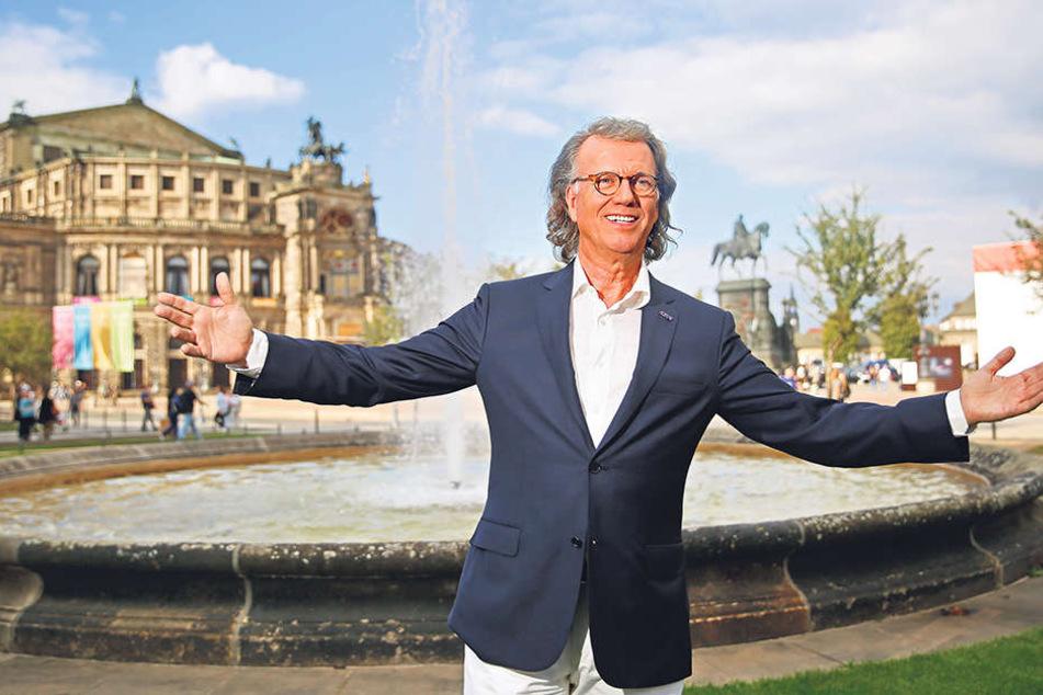 40 Millionen verkaufte Tonträger sprechen für sich: Stargeiger André Rieu (66) ist der Mitternachtsact beim  SemperOpernball.