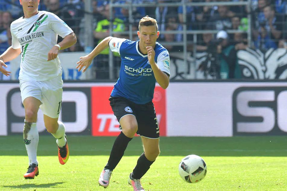 Michal Mak spielte nur 42 Minuten im Heimspiel gegen Hannover 96.