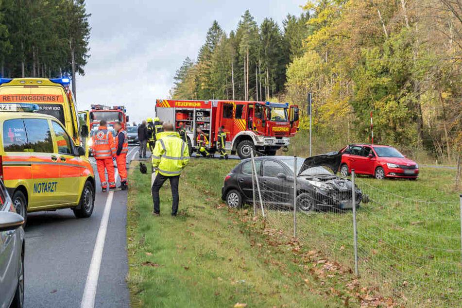 Drei Verletzte bei Unfall im Vogtland