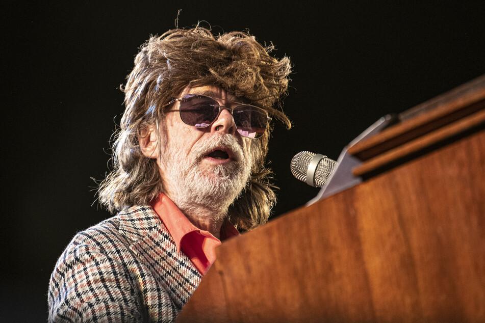 Helge Schneider gibt auf der Berliner Waldbühne ein Konzert.
