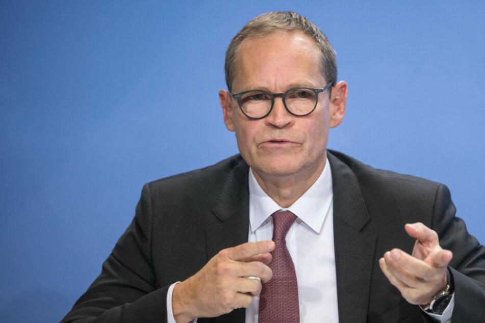 Nach neuen Corona-Beschlüssen: Michael Müller nimmt Berliner in die Pflicht