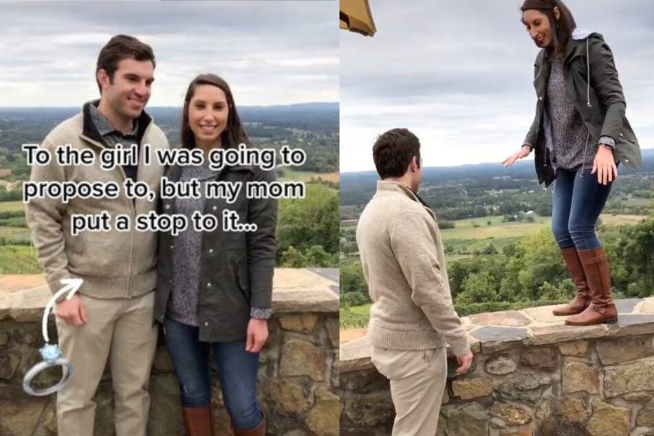 TikTok-Nutzer Dan wollte seiner Freundin einen Antrag machen ...