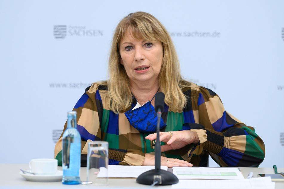 Sachsens Sozialministerin Petra Köpping (62, SPD).
