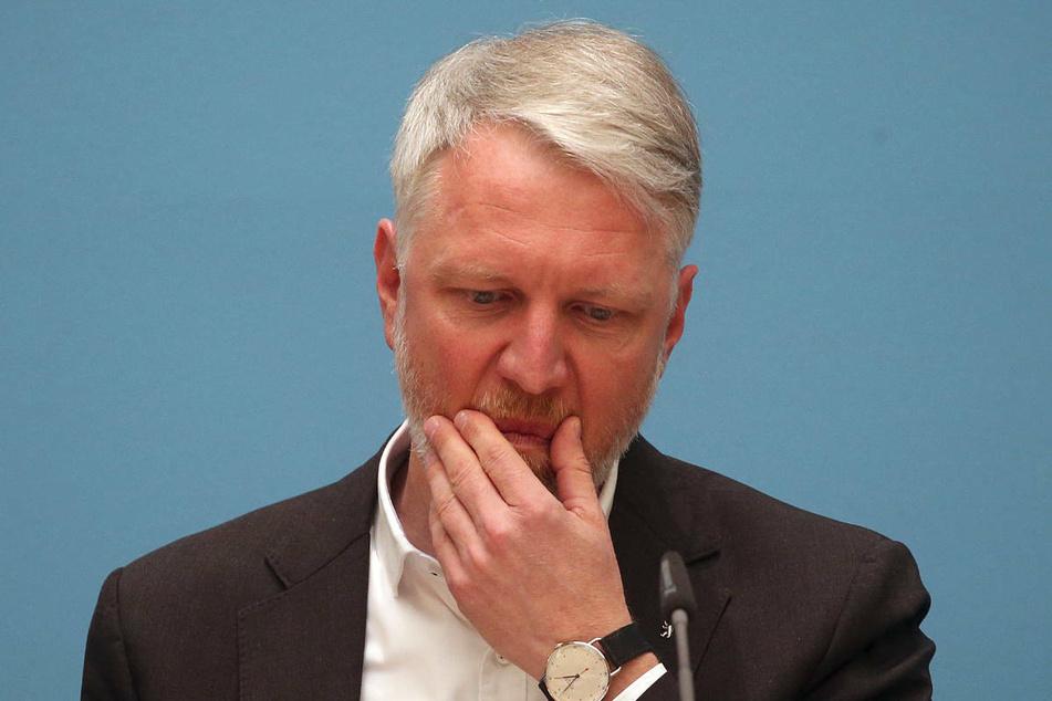 """Sebastian Scheel (45, Linke), Berlins Senator für Stadtentwicklung und Wohnen, hat am Dienstag einen """"Sicherungsfonds"""" für Mieter in Not in Aussicht gestellt."""