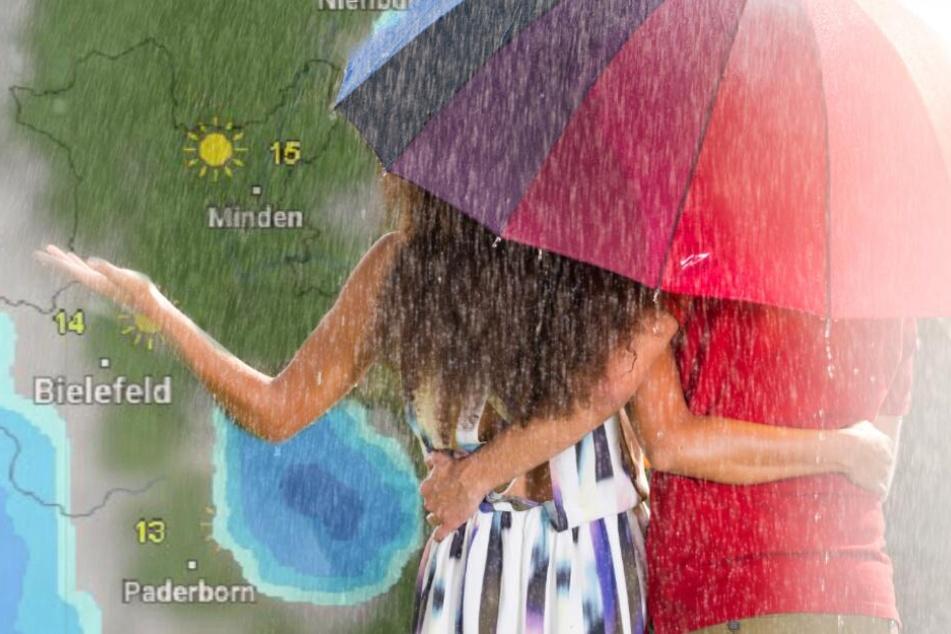 Aprilwetter hat OWL fest im Griff: Regen und Sonne am Wochenende