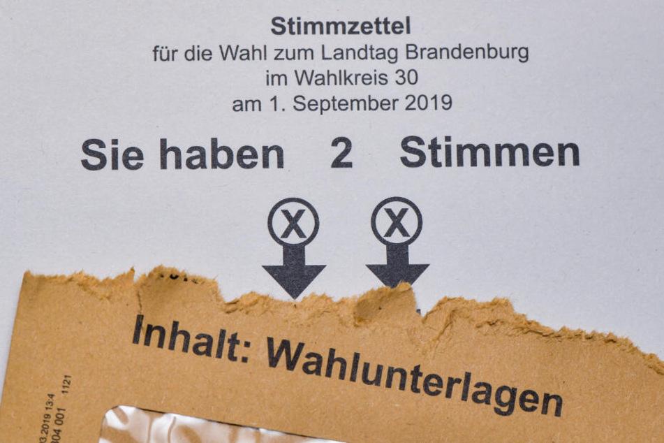 Landtagswahl in Brandenburg 2019: Am Sonntag wird gewählt.