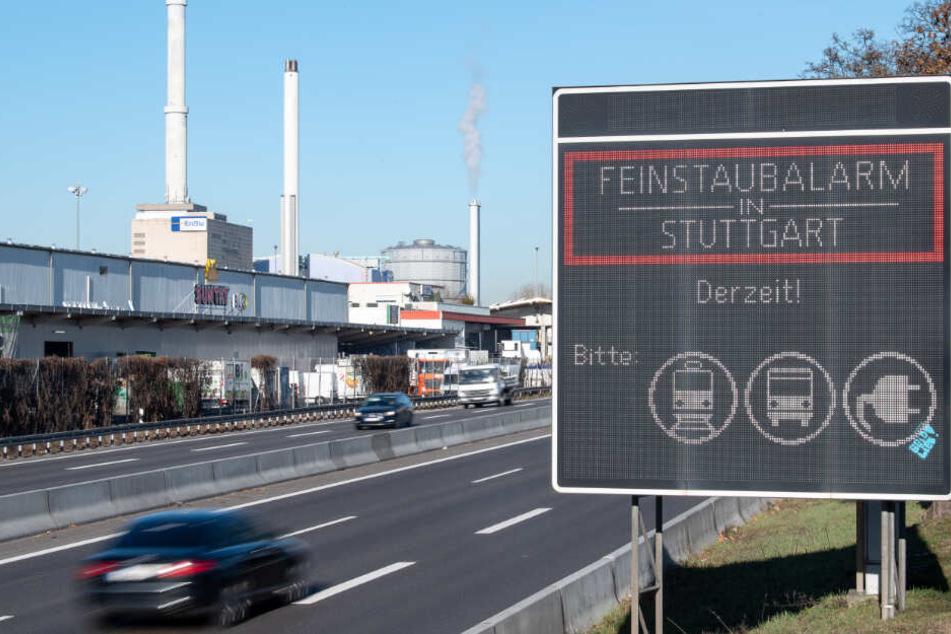 Stuttgart: Schlimme Luftqualität nach Silvester-Feuerwerk im Raum Stuttgart