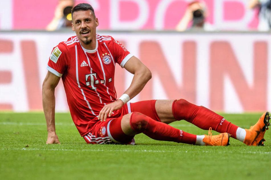 Sandro Wagner (30) ist unzufrieden mit seiner Rolle beim FC Bayern.