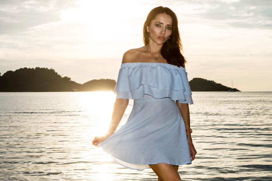 """Im Frühjahr heizte Anastasiya Avilova den Männern bei der Show """"Temptation Island"""" ein."""