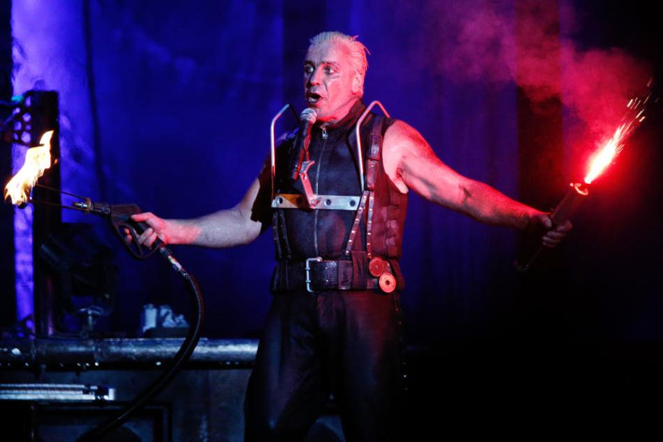 Till Lindemann geht mit seiner Band Rammstein wieder auf Tour.