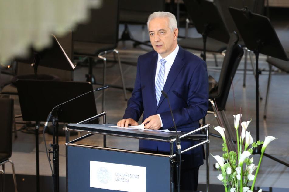 Hielt auf dem Festakt zur Eröffnung des Paulinums die Begrüßungsrede: Ministerpräsident Stanislaw Tillich (CDU).