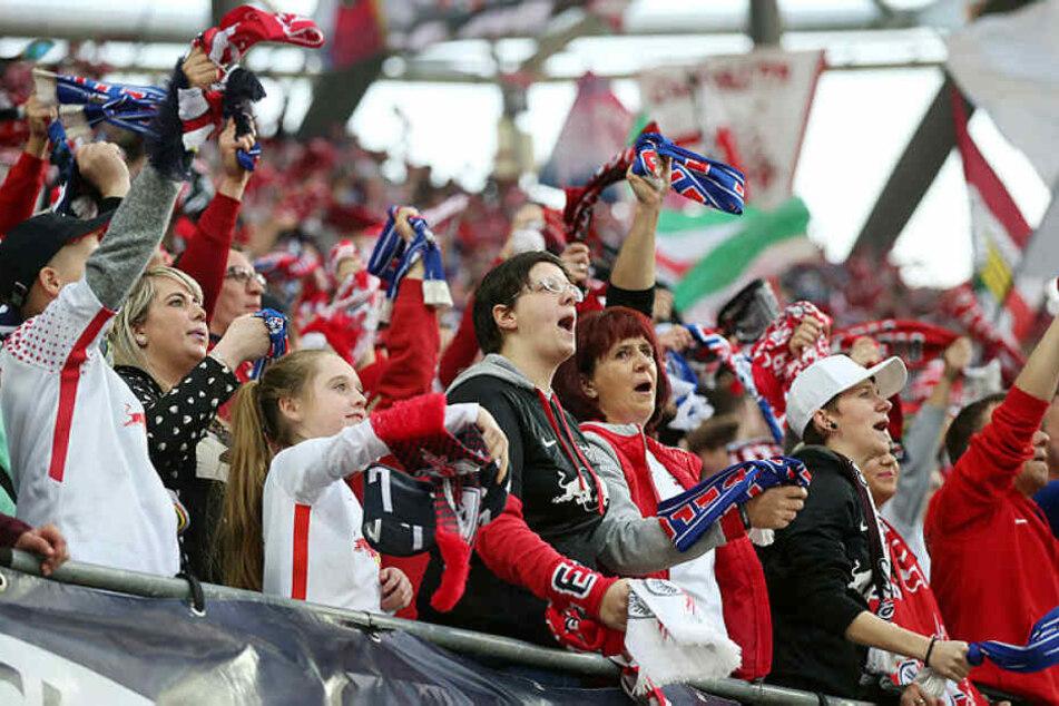 Die RB-Fans konnten erstmals in diesem Jahr einen Sieg der Roten Bullen bejubeln.