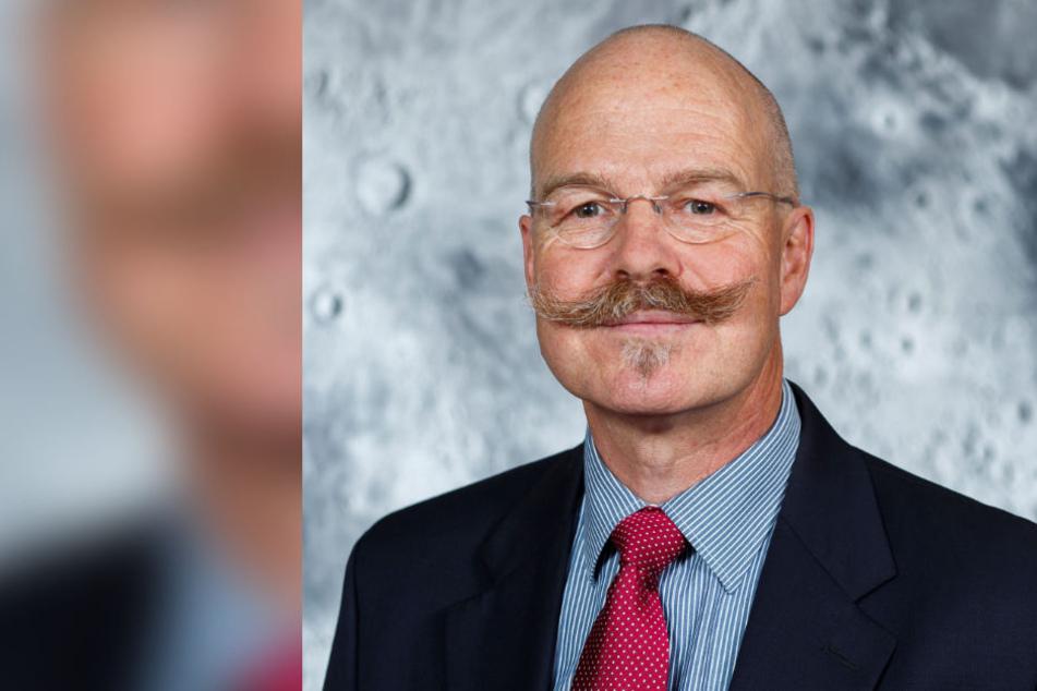 Planetologe Harald Hiesinger von der Universität Münster begleitet die Mission.