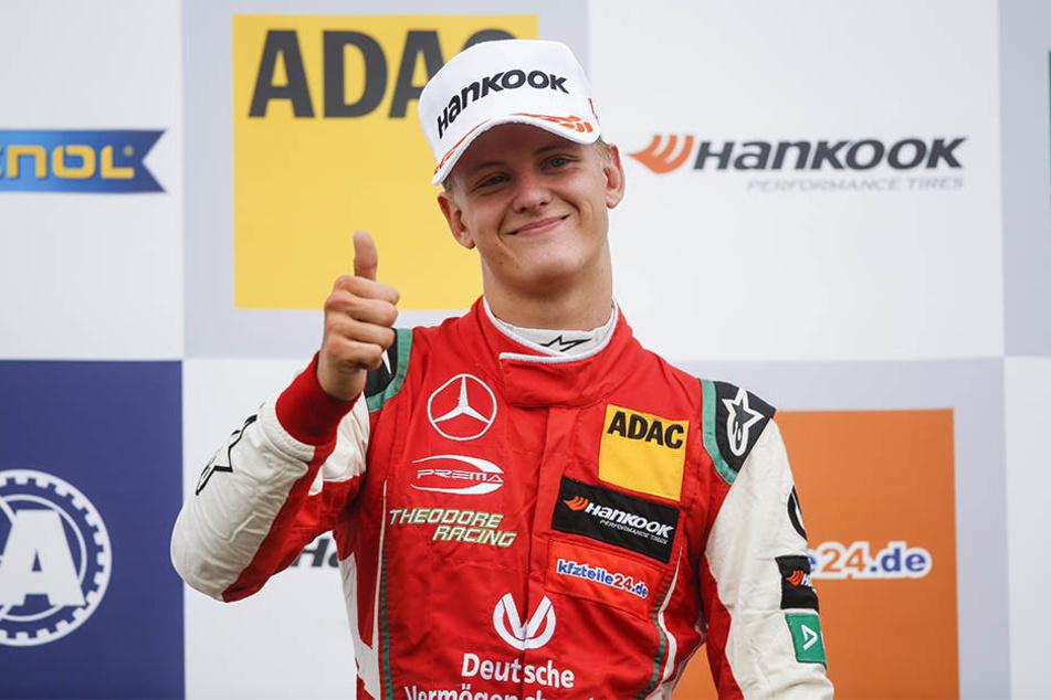 Mick Schumacher hat den Titel in der Formel 3 so gut wie sicher.