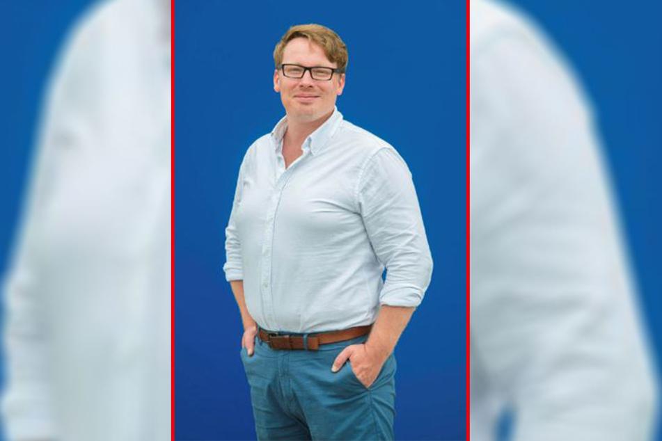 Autor Michael Kuhn (40) geht im neuen Krabat-Stück der Frage nach, wie der Schwarze Müller sein Augenlicht verlor.