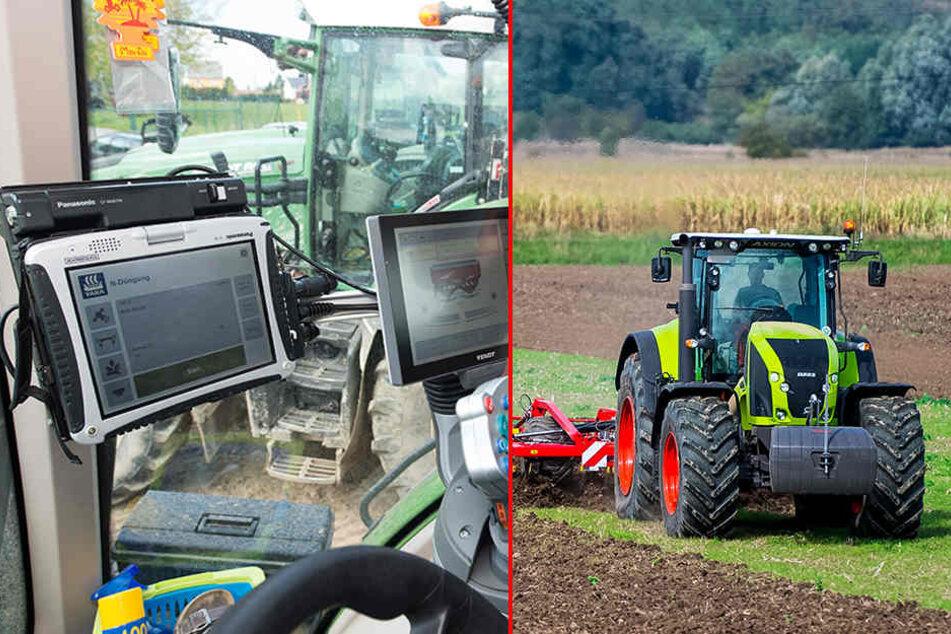 Seit Wochen treiben Diebesbanden im Leipziger Umland ihr Unwesen. Sie klauen die technische Ausstattung von landwirtschaftlichen Maschinen (Symbolbild).