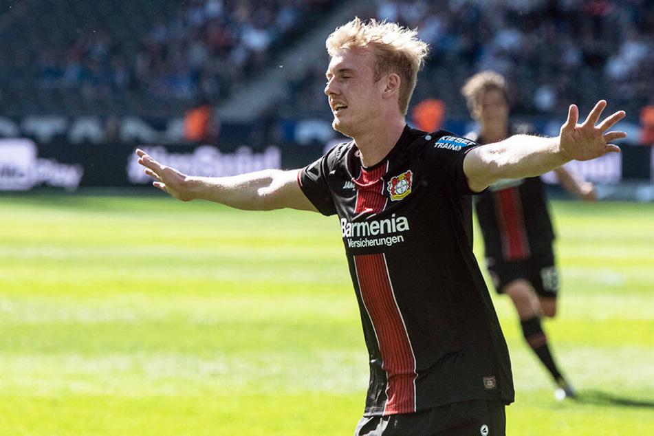 Der Abgang von Julian Brandt schmerzt Bayer Leverkusen. Doch für guten Ersatz wurde gesorgt.