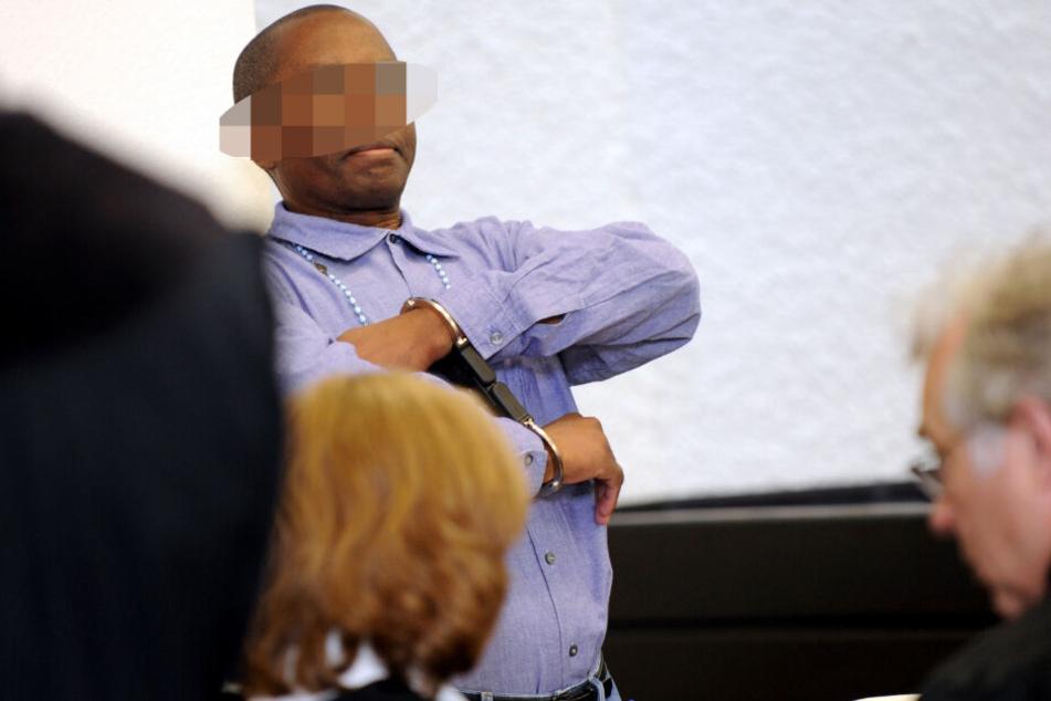 Rückblick: Ignace M. 2011 vor Gericht in Stuttgart.