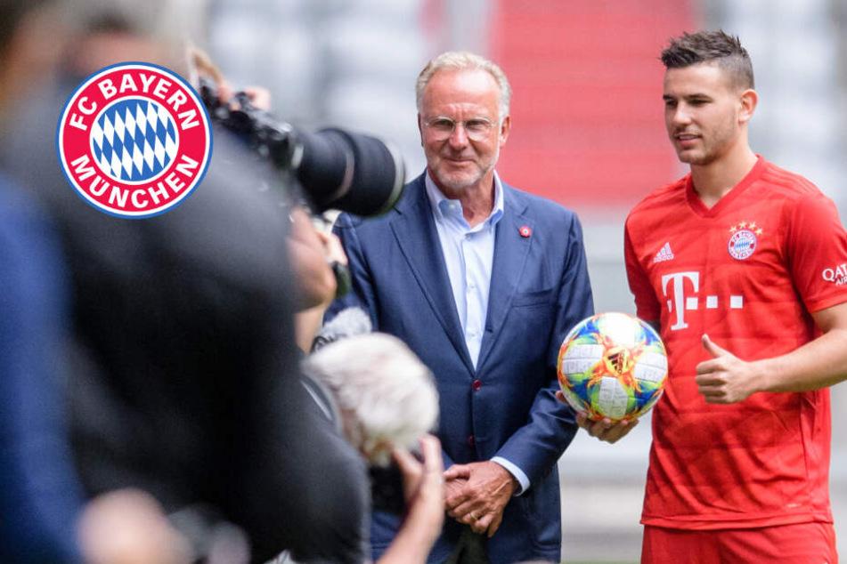 Bayern-Boss Karl-Heinz Rummenigge stichelt, Lucas Hernández macht sich direkt beliebt