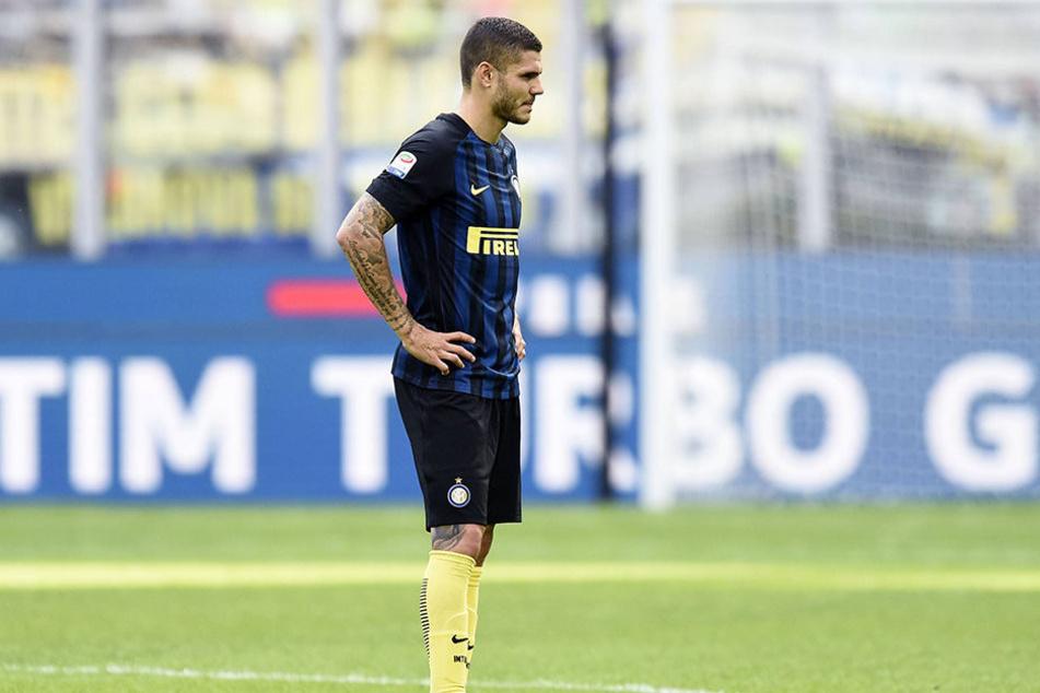 Mauro Icardi und die Inter-Fans werden wohl keine Freunde mehr.