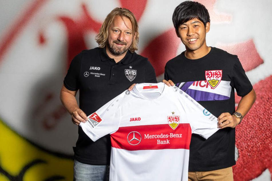 Wataru Endo wechselt mit sofortiger Wirkung zum VfB Stuttgart.