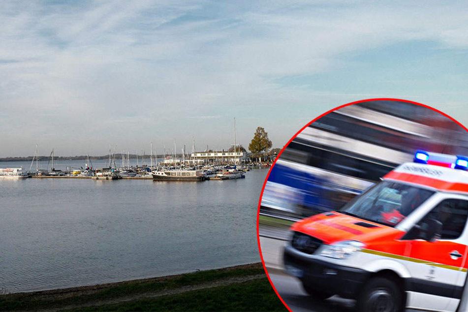 Feuerwehr- Einsatz am Markkleeberger See: Person vermisst