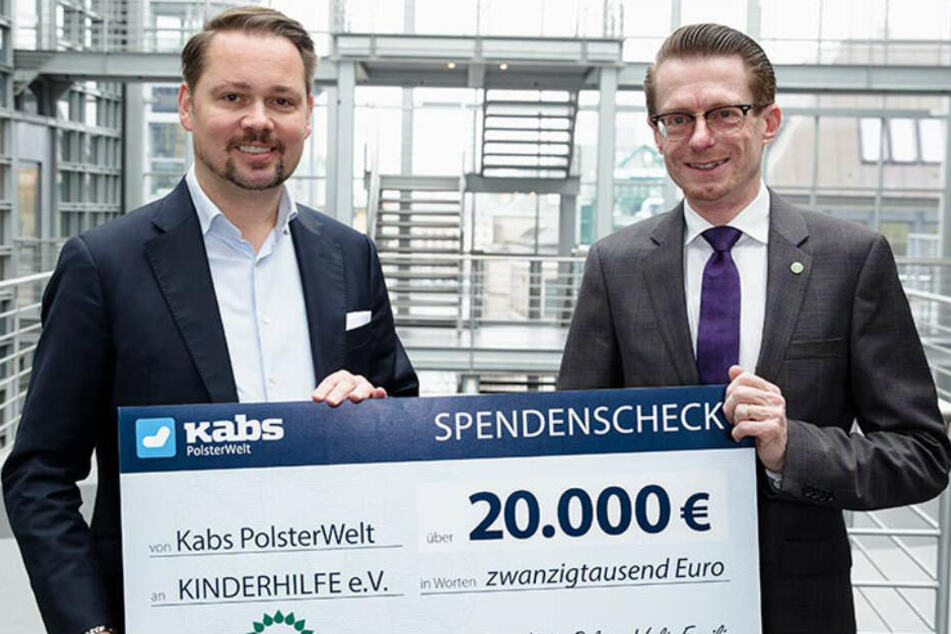 Im Jahr 2017 kam eine Summe von 10.000 Euro zusammen. Der Inhaber entschloss sich die Summe auf sogar 20.000 Euro zu verdoppeln.