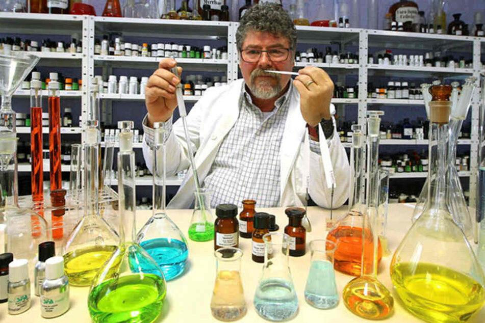 Jens Reißmann (61) entwickelte das Produkt auch im eigenen Interesse...