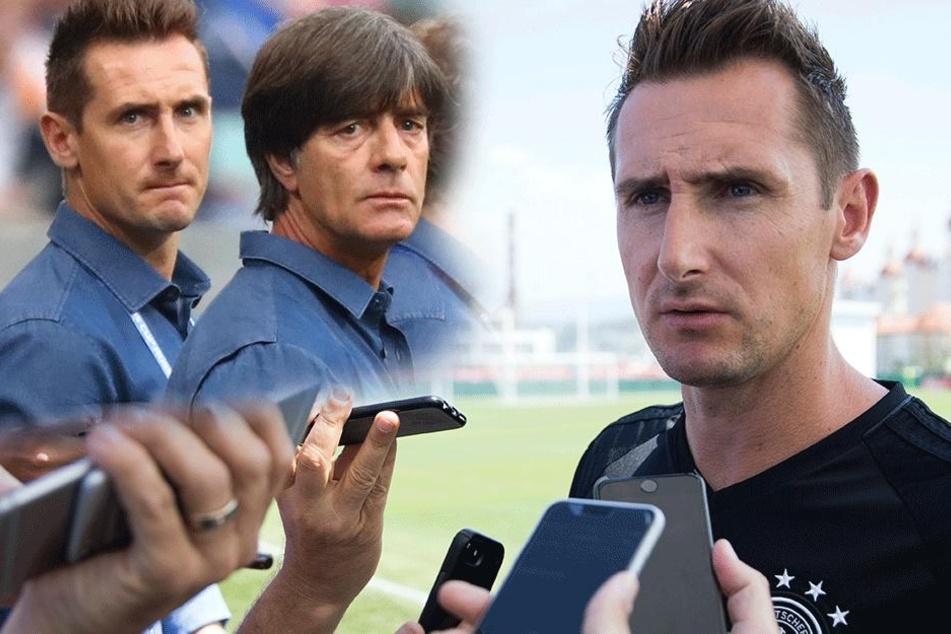 Jogi Löw will Miro Klose für die Fußball WM 2018 verpflichten