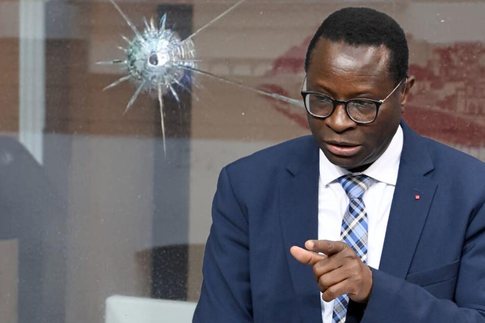 Schüsse auf Büro des Bundestags-Abgeordneten Karamba Diaby