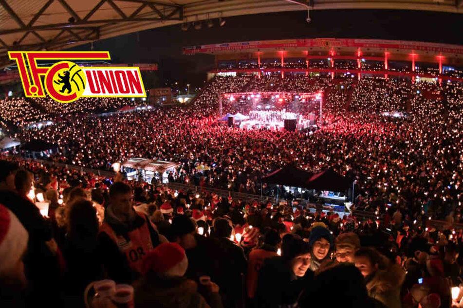 Weihnachtssingen bei Union: 28.500 Zuschauer werden erwartet