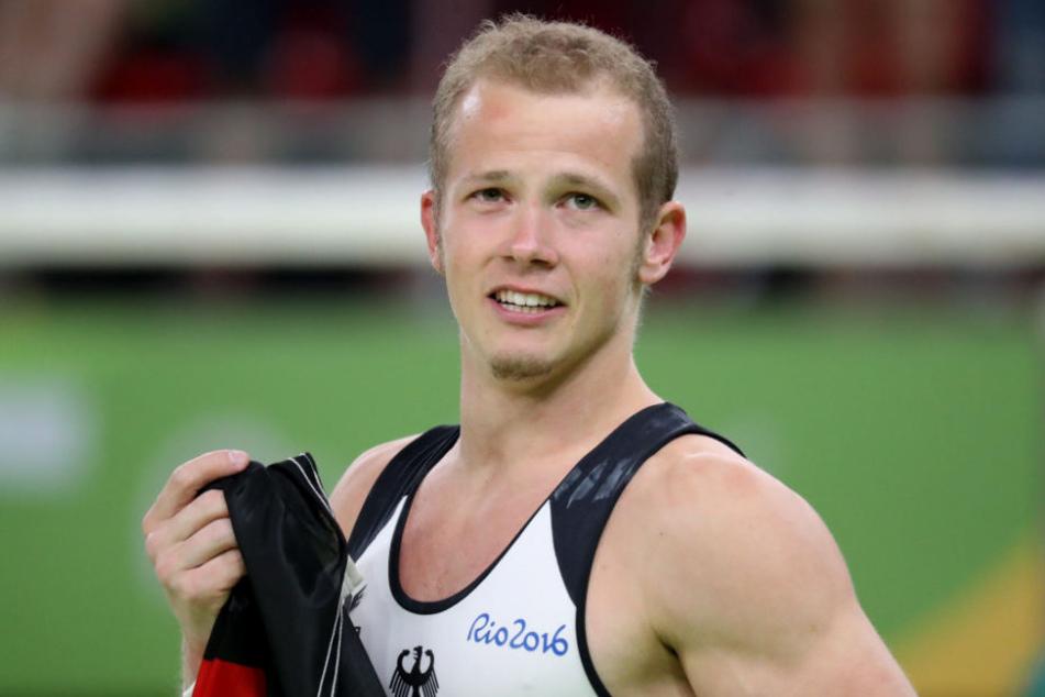Hambüchen gewann bei den Olympischen Spielen in Rio de Janeiro die Goldmedaille am Reck.