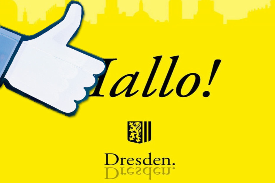 Da ist noch Luft nach oben: Die Facebook-Seite der Dresdner  Stadtverwaltung hat schon über 1300 Fans.