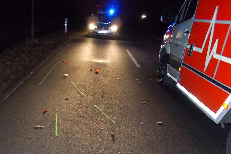 Auf der Isenstedter Straße hat ein Autofahrer (26) einen Rollerfahrer (18) fast überfahren.