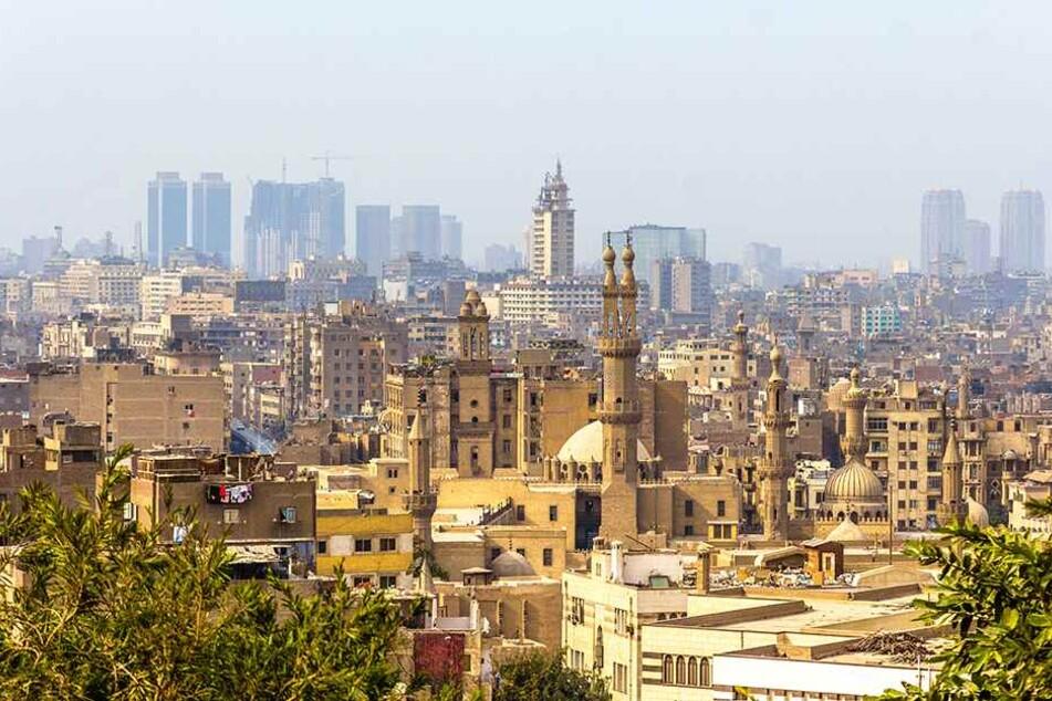 Ein Blick auf den islamischen Teil der ägyptischen Hauptstadt Kairo.