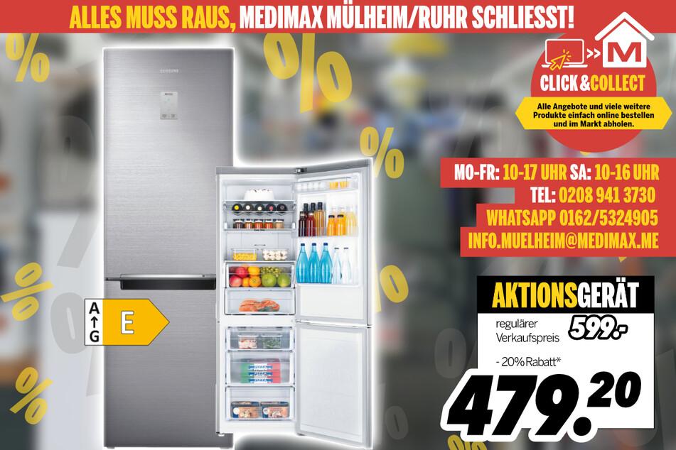 Kühl- und Gefrierkombi von Samsung für 479,20 Euro