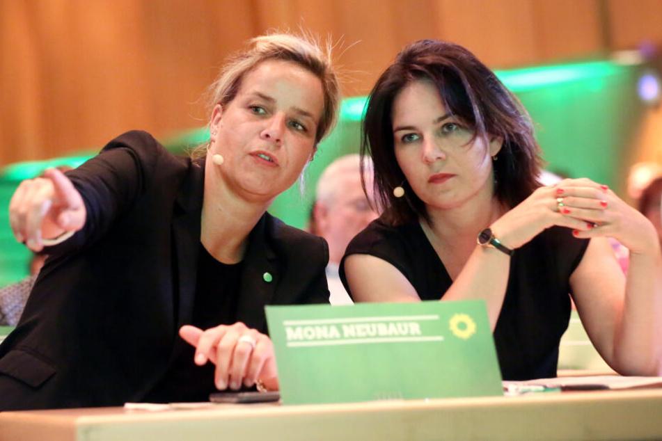 Höhenflug: Grünen-Chefin Baerbock mahnt, auf dem Teppich zu bleiben
