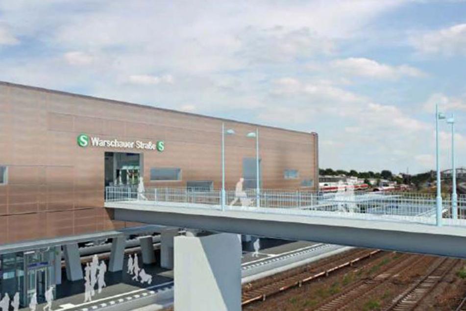Die Idee, die U-Bahnlinie 1 direkt zum Bahnhof zu führen, wurde verworfen. Ein Steg zum U-Bahnhof soll das Problem lösen.
