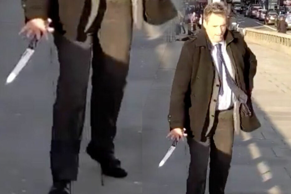 Er nahm dem Londoner Angreifer das Messer ab, jetzt wird er im Netz gefeiert