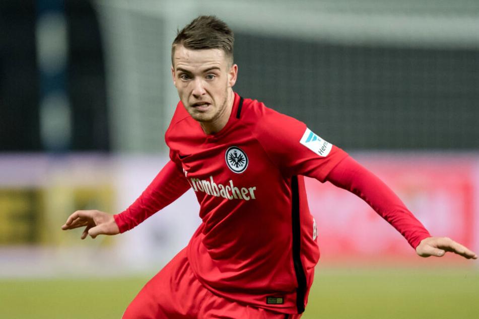 Damals noch im Trikot von Eintracht Frankfurt: Max Besuschkow.