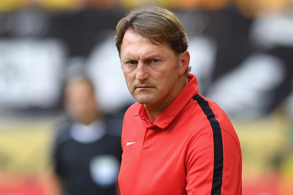 RB-Trainer Ralph Hasenhüttl sieht bei seinem Team noch jede Menge Luft nach oben.