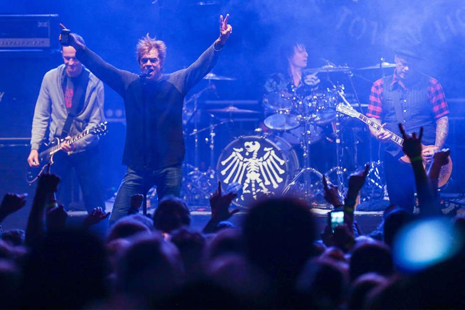 Auch die Toten Hosen werden Headliner beim Jubiläum sein. Zuletzt traten die Rocker 2009 auf dem Highfield-Festival auf.