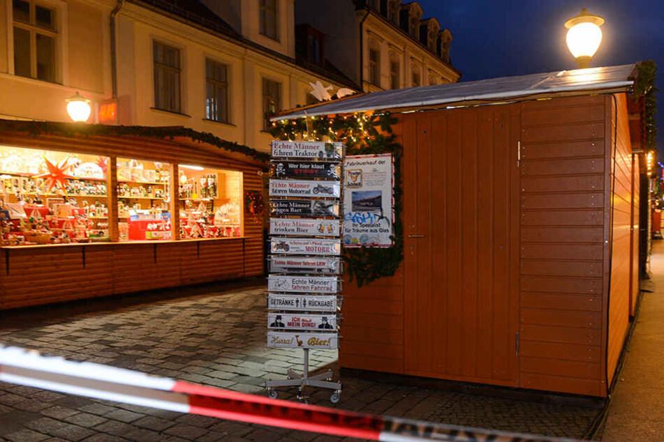 Wegen eines verdächtigen Gegenstands hat die Polizei in der Potsdamer Innenstadt einen Sperrkreis eingerichtet.