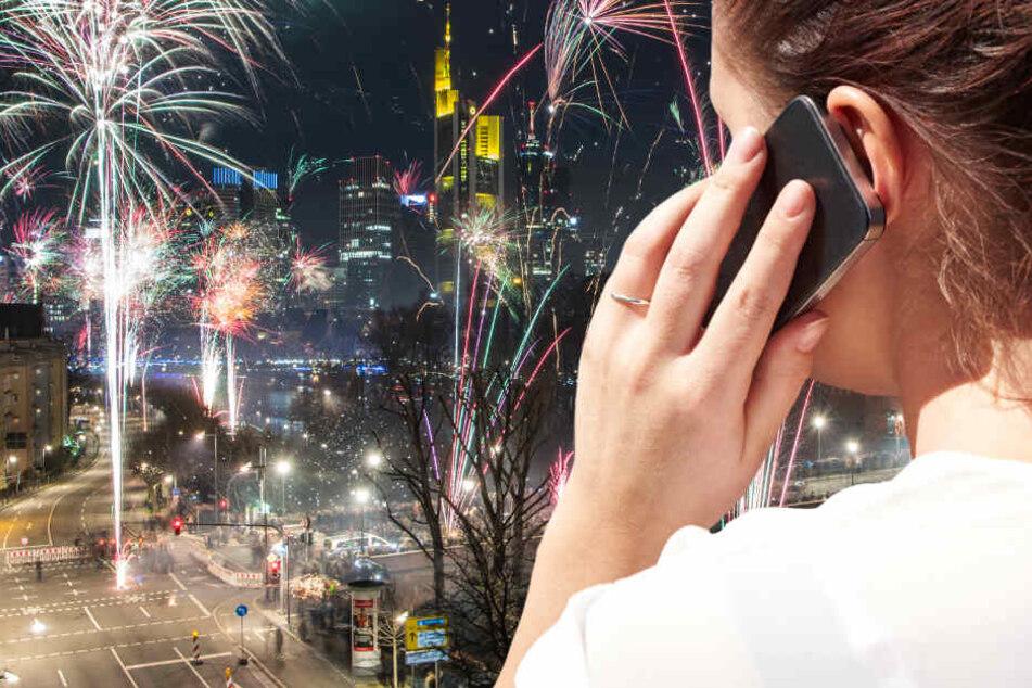 Auch über Silvester und Neujahr sind wichtige Notruf-Nummern in Frankfurt und Rhein-Main erreichbar.