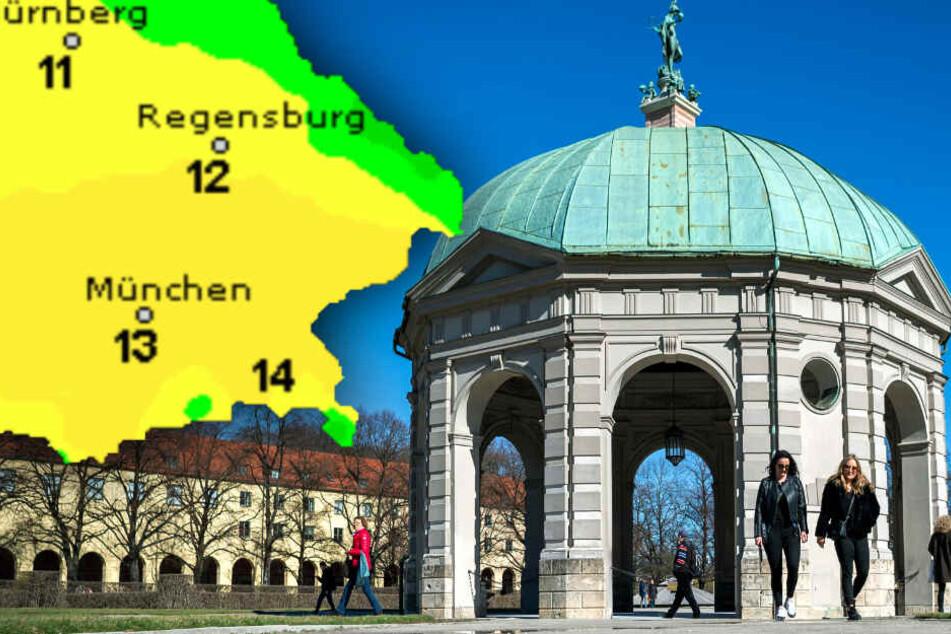 Tatsächlich Sonne in Bayern? So wird das Wetter am Wochenende